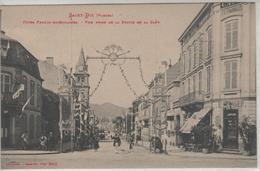 SAINT-DIE, Fêtes Franco-américaines, Vue Prise De La Sortie De La Gare - 8943Welck - Saint Die