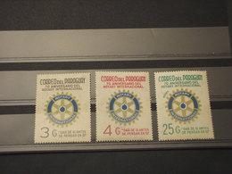 PARAGUAY -  1976 ROTARY  3 VALORI - NUOVI(++) - Paraguay
