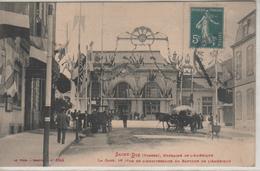 SAINT-DIE, Fêtes Franco-américaines, La Gare Le Jour De L'anniversaire Du Baptême De L'Amérique - 8948 Welk - Saint Die