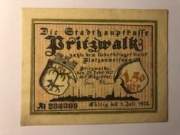 Allemagne Notgeld Pritzwalk 1 Mark 50 - Collections