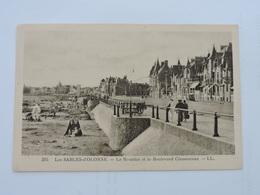 LES SABLES-d'OLONNE - Le Remblai Et Le Boulevard Clémenceau Ref 1591 - Sables D'Olonne