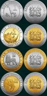 Kenya, 2018 Fauna, Set Of 4 Coins - Kenia