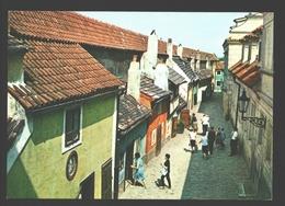 Praha - Golden Lane - Tchéquie