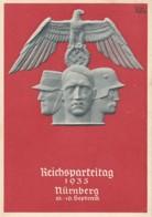 Deutsches Reich Propaganda Postkarte 1935 Reichsparteitag - Briefe U. Dokumente