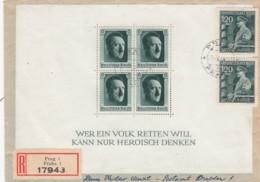 Deutsches Reich R Brief 1944 - Briefe U. Dokumente
