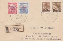 Deutsches Reich R Brief Bohmen Und Mahren 1942 - Briefe U. Dokumente