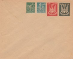 Deutsches Reich Privat Umschlag INFLA 1920-23 - Oblitérés