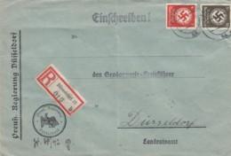 Deutsches Reich R Brief Dienstpost 1942 - Allemagne