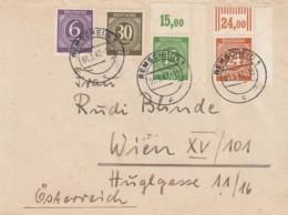 Allierter Bestezung Berlin Zehnfachfrankatur Brief 1947 - Deutschland