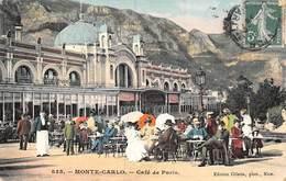 PIE.LOT CH-19-4822 : MONTE-CARLO. CAFE DE PARIS. - Bars & Restaurants