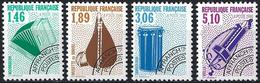 France 1990 - Mi 2791/94 - YT Po 206/09 ( Musical Instruments ) MNH** Complete Issue - 1989-....