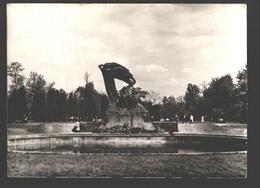 Warszawa - Pomnik Fryderyka Chopin - Photo Card - Pologne