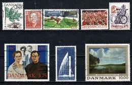 Danmark 1992 - 8 Stamps Used / Obl / Gebr - Danemark