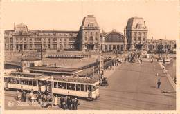 PIE.LOT CH-19-4834 : OSTENDE. MARITIME STATION. TRAMWAYS. - Oostende