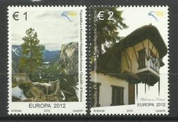 KOSOVO 2012  EUROPA SET MNH - Kosovo