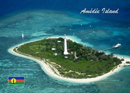 AKNew Caledonia Amedee Island Lighthouse New Postcard Insel Leuchtturm AK - New Caledonia