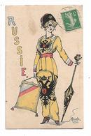 "Cavolo  -     Femme  ""  Russie  ""   -  Patriotique - Illustrators & Photographers"