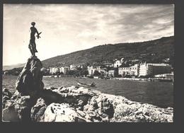 Opatija - Monument Spomenik Maiden With Seagull - Photo Card - Croatie