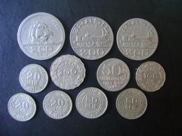 BRAZIL - 11 NICKEL COINS, DIFFERENT DATES - Brésil