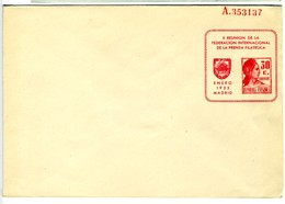 1933  SOBRE ENTERO POSTAL PRIVADO     30C MATRONA EP440 - Entiers Postaux