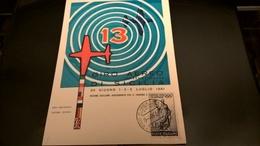 13° GIRO AEREO DI SICILIA 1961 - Airplanes