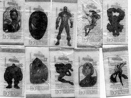 10 Tatoos Malabar Série Marvel Heroes - Otras Colecciones