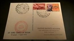 25° GIRO AEREO DI SICILIA 1973 - Flugzeuge