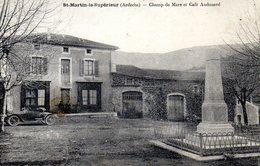 St Martin Le Superieur Champ De Mars Et Cafe Audouard - France