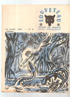 Scoutisme Scout De France Revue Louveteau N°8 Du 20 Avril 1957 Couverture Illustrée Par IGOR - Scouting