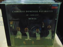 Carreras Domingo Pavarotti In Concert With Mehta - Classical