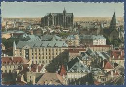 Metz Panorama Mit Kathedrale Und Stadtkirche, Gelaufen 1941 (AK1589) - Lothringen