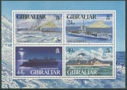 Gibraltar 1995 Kriegsschiffe Im 2. Weltkrieg Block 22 Postfrisch (C30914) - Gibilterra