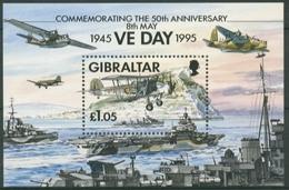 Gibraltar 1995 Beendigung Des 2. Weltkrieges Block 21 Postfrisch (C30913) - Gibilterra