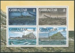 Gibraltar 1996 Kriegsschiffe Im 2. Weltkrieg Block 26 Postfrisch (C30916) - Gibilterra