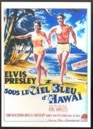 Carte Postale (cinéma Affiche Film) Sous Le Ciel Bleu D'Hawaï (Elvis Presley) - Affiches Sur Carte