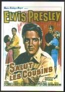 Carte Postale (cinéma Affiche Film) Salut Les Cousins (Elvis Presley) - Affiches Sur Carte