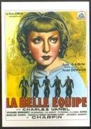 Carte Postale (cinéma - Affiche - Film) La Belle équipe (Jean Gabin - Viviane Romance) - Affiches Sur Carte