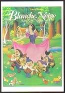 Carte Postale (cinéma - Affiche - Film) Blanche Neige Et Les Sept Nains (Walt Disney) - Affiches Sur Carte