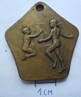 MEDAL Gymnastics . I. CELOSTATNI / SHOLY / SPARTAKIADA 1955 CZECH REPUBLIC  KUT - Gymnastics