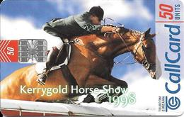 CARTE-PUCE-IRLANDE-SC7-KERRYGOLD HORSE SHOW 1998-TBE-Reste 10U - Irlande