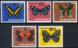Suriname 1977 Vlinders, Butterflies, Mariposa, Schmetterlinge MNH/**/postfrisch - Surinam