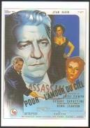 Carte Postale Illustration : Jacques Bonneaud (cinéma - Affiche - Film) Pour L'amour Du Ciel (Jean Gabin) - Affiches Sur Carte