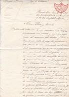 PROTESTA DE DEUDA EPOCA ROSAS ARGENTINA AÑO 1843 BUENOS AIRES LEYENDA MUERAN LOS SALVAGES UNITARIOS... - BLEUP - Historische Documenten