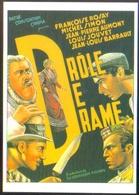 Carte Postale Illustration : Cecchetto (cinéma - Affiche - Film) Drôle De Drame (Louis Jouvet, Michel Simon) - Affiches Sur Carte