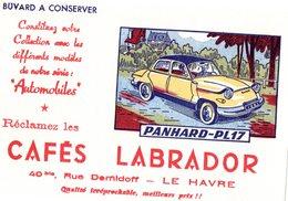 Serie De 8 Buvards Cafe Labrador - Automotive