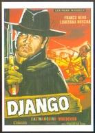 Carte Postale (cinéma Affiche Film Western) Django (Franco Nero) - Affiches Sur Carte