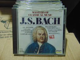 Masters Of Classical Music- J.S.Bach Vol.2 - Klassik