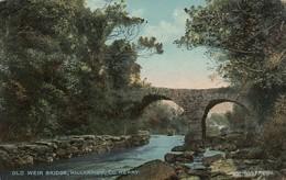 Postcard Old Weir Bridge Killarney Co Kerry My Ref  B13258 - Kerry