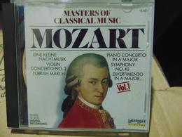 Masters Of Classical Music- Mozart,vol.1 - Klassik