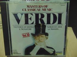 Masters Of Classical Music- Verdi, Vol.10 - Classical